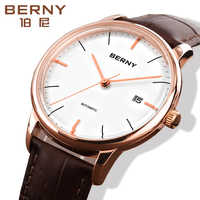 Business Mens MIYOTA Automatic Watches Mechnical Automatic Watches Classic erkek kol saati relojes para hombre Stainless steel