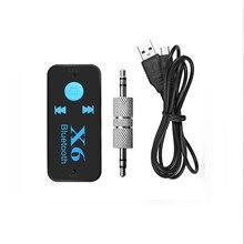 лучшая цена Car Music Mp3 Receiver Car Bluetooth Receiver Wireless Car Audio AUX Bluetooth Receiver Adapter Car Kits Music Hands-free #3