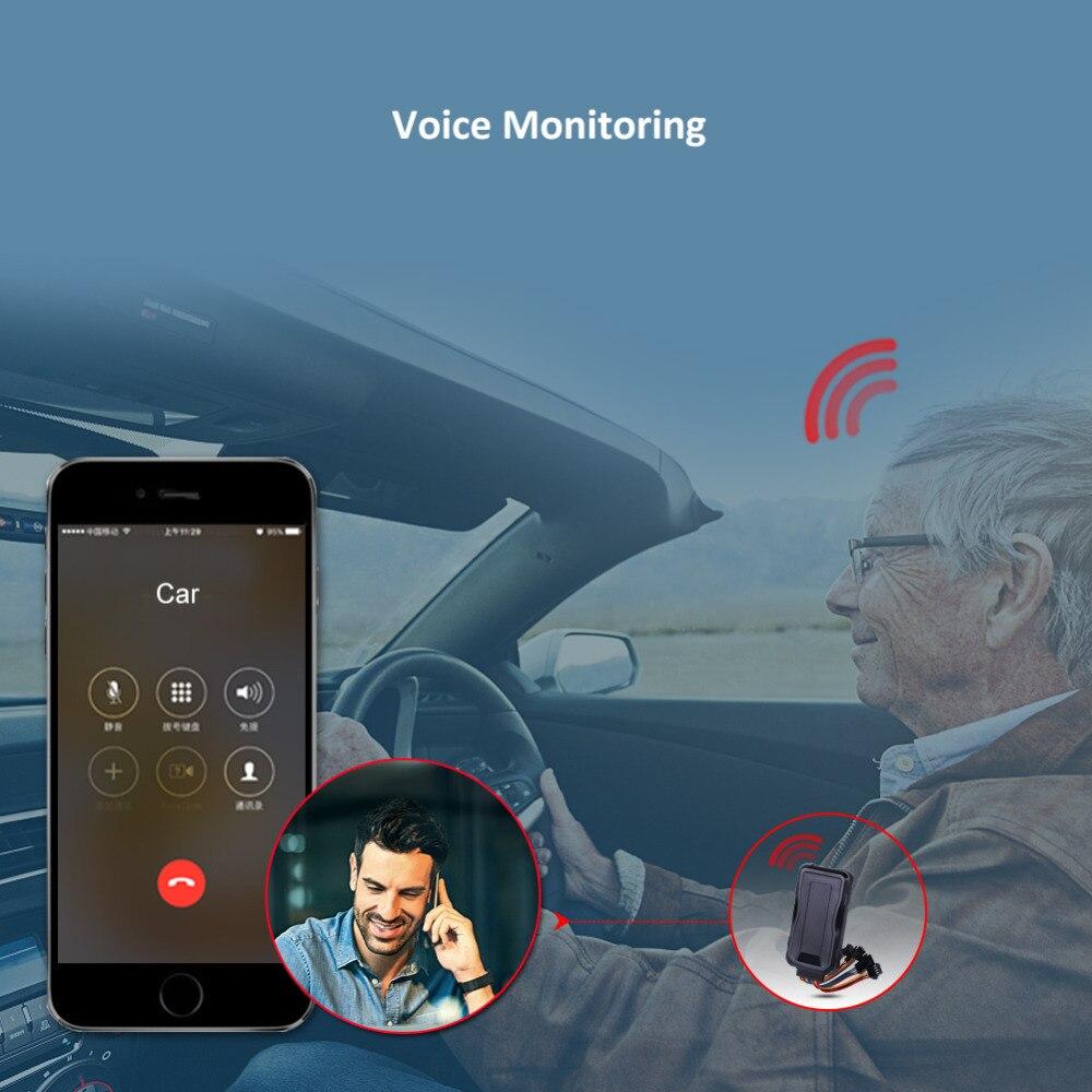 Dispositif de suivi de voiture traqueur GPS 3G Concox GT06E huile coupée localisateur GPS moniteur vocal étanche kilométrage alarme de Vibration APP Web - 5