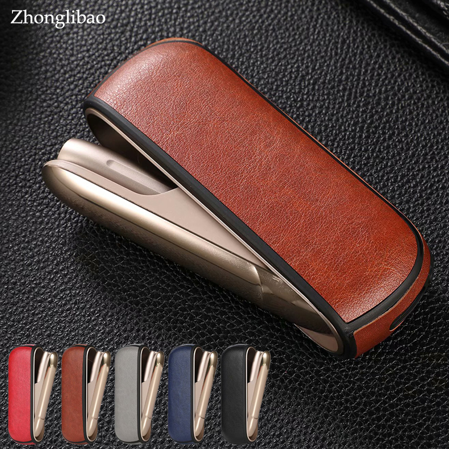 Luxury Leather Case for Iqos 3.0 Cigarette Accessories Carrying Protective Anti Scratch Soft TPU+PU Leather Cover for Iqos 3.0 3Luxury Leather Case for Iqos 3.0 Cigarette Accessories Carrying Protective Anti Scratch Soft TPU+PU Leather Cover for Iqos 3.0 3