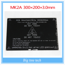 Bigger! 2015 MK2A 300*200*3.0mm RepRap RAMPS 1.4 PCB Heatbed For 3D Printer MK2B