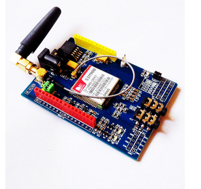 5pcs/lot For Arduino SIM900 Module 4 frequency\development board\GSM\GPRS\text message/wireless data exceed TC35i SIM Module цена и фото