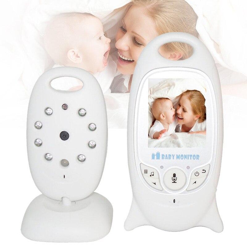 MBOSS vídeo Digital Monitor portátil cámara de visión nocturna dos hablar inalámbrica Walkie Talkie niñera