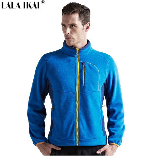 Outdoor Fleece Clothing Autumn Winter Men Fleece Jacket Thick Warm ...