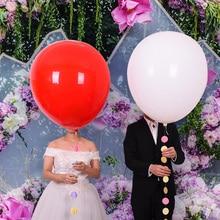 36 inch Jumbo Round Latex Balloons Big Balloon Beautiful Wedding Balls Arch Decoration
