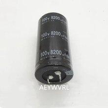 12 pces 2 pces 100v 8200uf capacitor eletrolítico radial 8200uf 100v 35x50mm