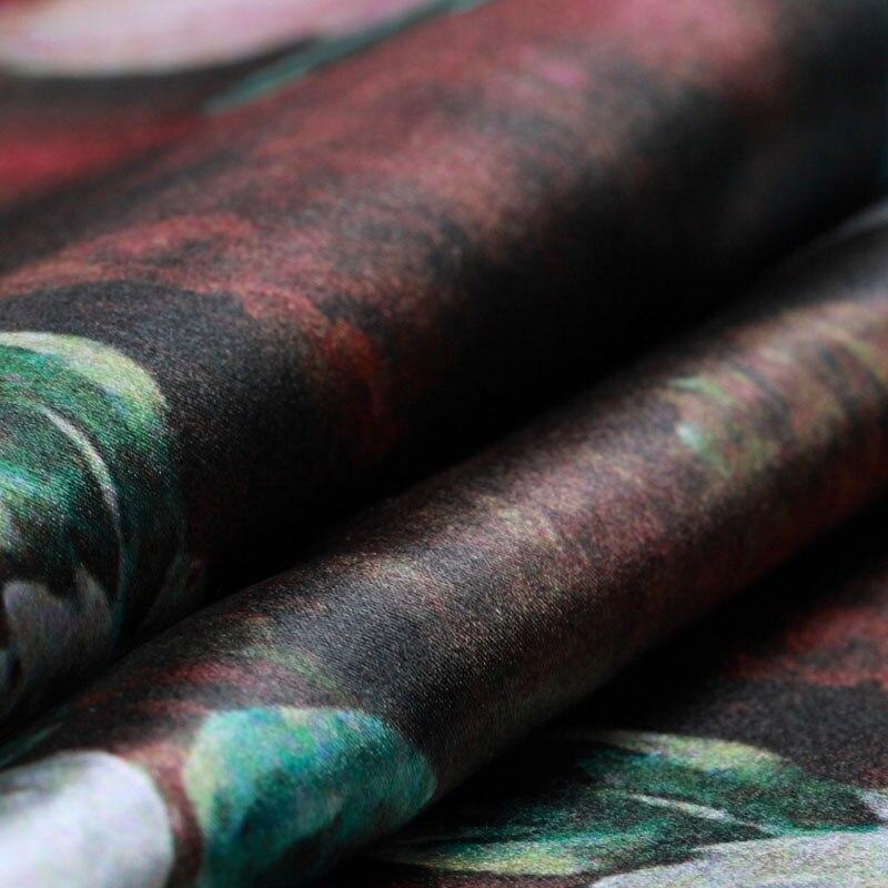 Lukisan minyak klasik, Seni digital printing, Kain sutra, Gaun - Seni, kerajinan dan menjahit - Foto 2