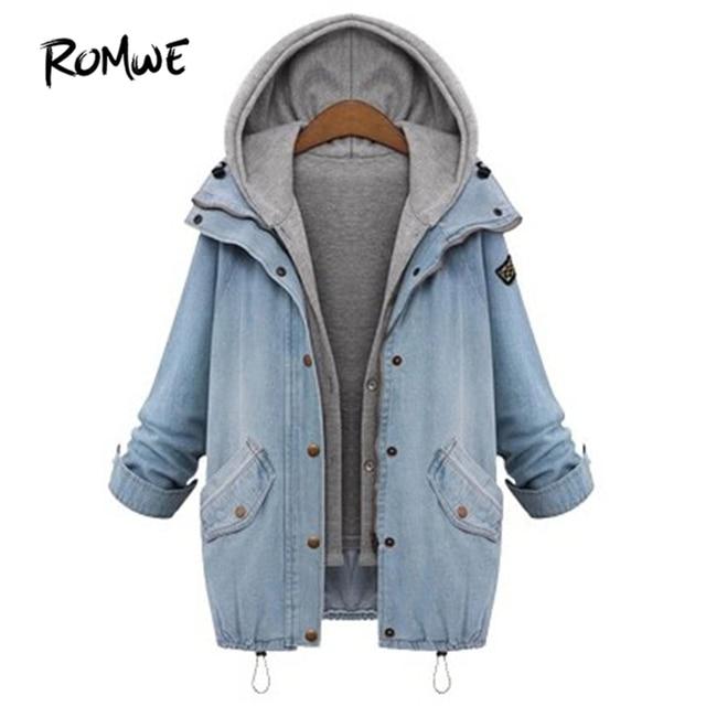0b9552c1b6d2 ROMWE-Capuche-Cordon-Boyfriend-Tendances-Jean-Swish-Poches-Deux-Pi-ces-Manteau-2018- Bleu-Manches-Longues.jpg 640x640.jpg