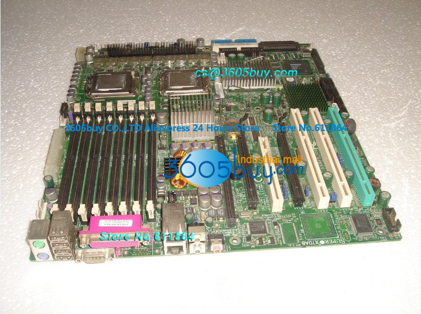 High quality X7DA8 100% tested perfect quality Dual Xeon 771 pin Server Board Workstation With Independent Video Slot men fitness mma fight shorts