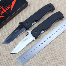Emerson CQC 7BW Folding Knife 7Cr Blade G10 Handle Camping Outdoor Knives Survival Tactical Pocket knife Hunting Tools EDC