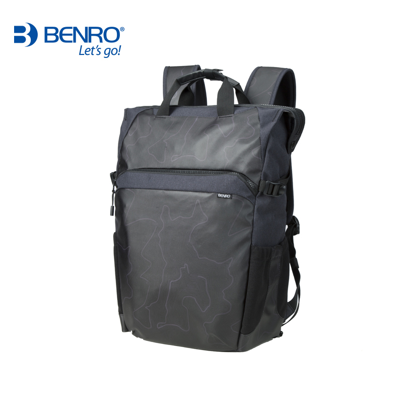 Benro Colorful 100 Travel Backpack Camera Backpack SLR Single Micro Multifunctional Anti-theft Open Back Section crystalex