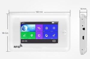 Image 3 - Yobang bezpieczeństwa wszystkich ekranów dotykowych Alexa wersja 433 MHz bezprzewodowy WIFI GSM inteligentny dom monitor bezpieczeństwa system antywłamaniowy zestawy