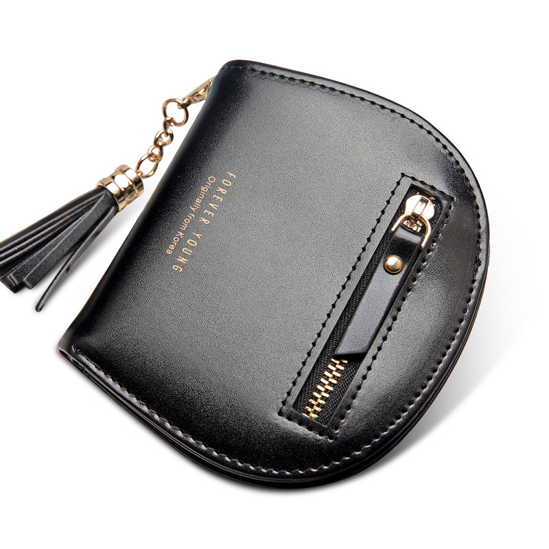 Fashion cute women wallet small female purse short coin card holder dollar bag card pouch more color hot sale handbag