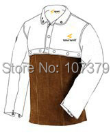 Split Cow Leather Welder Apron Flammhemmende Cow Leather Welding - Schutz und Sicherheit - Foto 2