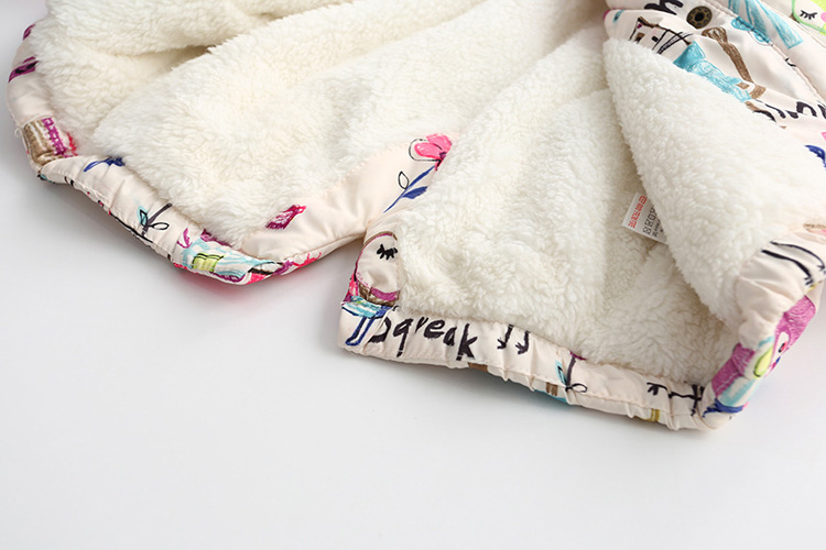 1-7 t graffiti parkas casacos com capuz