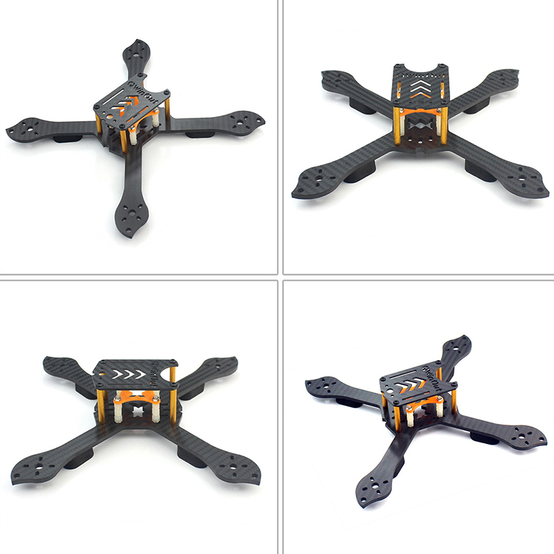 DIY Accesory Kit 210mm X Shape Carbon Fiber Frame RS2306 Brushless Motor 30A ESC with PDB 5V BEC For FPV RC Drone Quadcopter