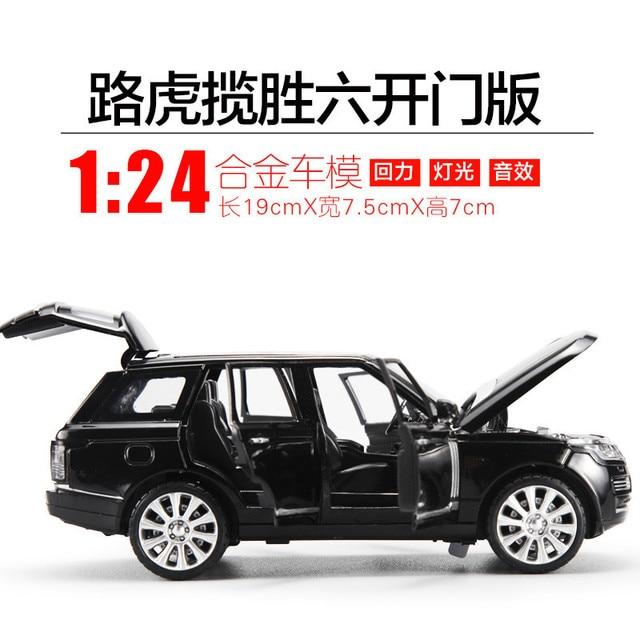 Legal SUV 1 24 Electric Range rover Veículos die-cast liga modelo de carro f4512acd3f
