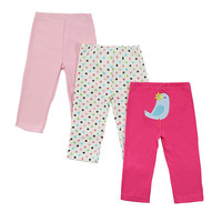 3 PCS LOT Baby Pants Spring Autumn Lovely Cotton Infant Pants Newborn Baby Boy Pants Baby
