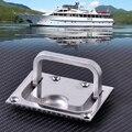 Novo 316 Aço Inoxidável para o Barco Marinho Caravana Hatch Flush Armário Elevador Gabinete Pull Handle Hardware