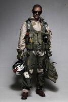 Коллекция хобби 1/6 солдат комплект одежды ВМС США черный Рыцари для 12 дюйм(ов) фигурки