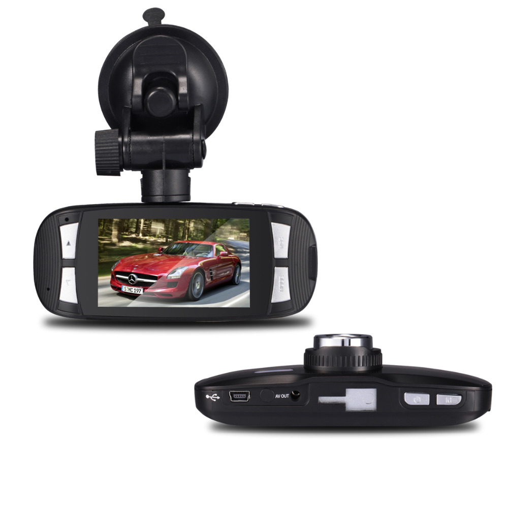 G1W Car DVR Novatek 96650 Dash Cam with WDR Full HD 1080P 2.7 inch Screen 30FPS G-Sensor Super Night Vision Car Black Box DVR