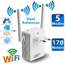 Bezprzewodowy 2 4GHz WiFi 300Mbps 2 porty wzmacniacz routera o wysokiej mocy anteny most wzmacniacz sygnału wi fi punkt dostępu duża odległość tanie tanio wireless 300 mbps 300396 Wi-fi 802 11g Wi-fi 802 11b Bezprzewodowy dostęp do internetu 802 11n Domu 1x10 100 1000 Mbps