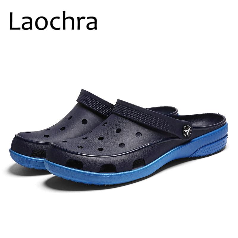 LAOCHRA Qadın çimərlik sandaleti, çuxurlu moda mənzilləri ilə - Qadın ayaqqabıları - Fotoqrafiya 4