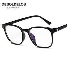 Transparent Glasses Frames  Men Women Fake Vintage Optical Myopia Eyeglasses Ladies Retro Eyewear