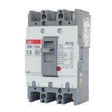 20A 30A 40A 50A 60A 75A 100A формованные чехол автоматический выключатель 3 p 3 полюс 50 Гц 600V ABE-103b