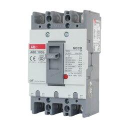Автоматический выключатель 20A 30A 40A 50A 60A 75A 100A, формованный чехол, 3 p, 3 полюса, 50 Гц, 600 В, ABE-103b