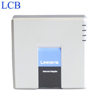 Unlocked Linksys PAP2T PAP2 NA PAP2 SIP IP VOIP Phone Adapter 2 FXS Phone Ports PAP2T