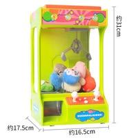 USB Charging Claw Machine Candy Grabber Doll Arcade Game Catcher Toy Clip Claw Crane Vending Arcade Machine UFO Catcher