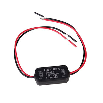 Motorcycle Car Accessories GS-100A LED Brake Light Flash Controller Box 8-30V image