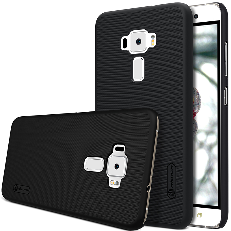 For Asus Zenfone 3 ZE552KL Case NILLKIN Super Frosted Shield Mattehard Back Cover For Zenfone 3 ZE552KL +Free Screen Protector