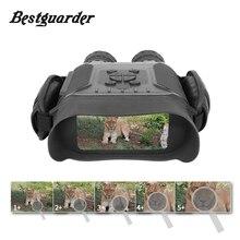 Bestguarder prismáticos IPX4 HD para caza, visión nocturna, lapso de tiempo, gran pantalla de 400M, Zoom 5x, 4,5x40mm, 32G, telescopio infrarrojo Monocular