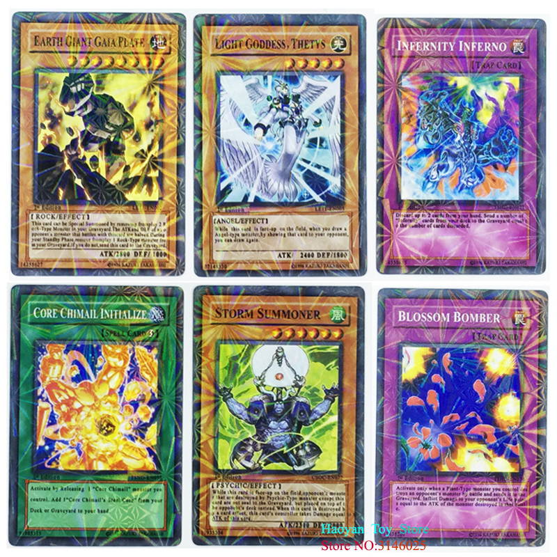 288pcs Anime Japan Yugioh Game Cards Cartoon Yugioh Game Cards Japan Boy Girls Yu-gi-oh Cards Collection For With Box #4