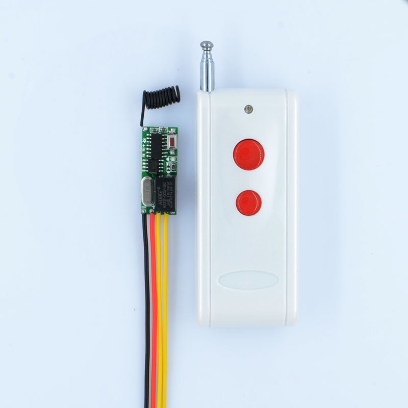 1000M RF Remote Control Switch System Mini Small Volume DC3-5V Receiver 315/433MHZ Waterproof Transmitter Micro 3v 5v Relay dc 3 5v 12v mini relay 2 receiver