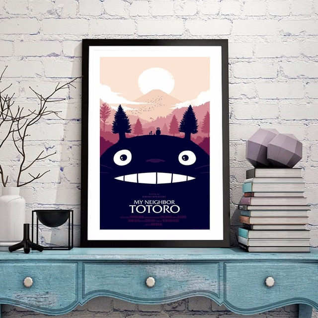 TOTORO WALL POSTER (2 DESIGN)