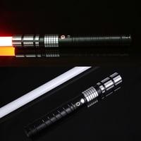 LGT LT2 джедай светодиодный световой меч сила FX тяжелый Dueling перезаряжаемый световой меч громкий звук высокий свет с FOC MetalHilt Рождество