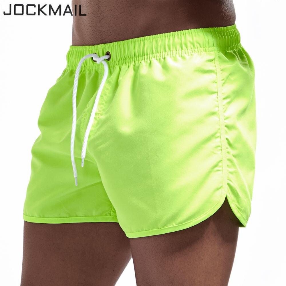 JOCKMAIL Mens Swimwear Swim   Shorts   Trunks Beach   Board     Shorts   Swimming   Short   Pants Swimsuits Mens Running Sports Surffing   shorts