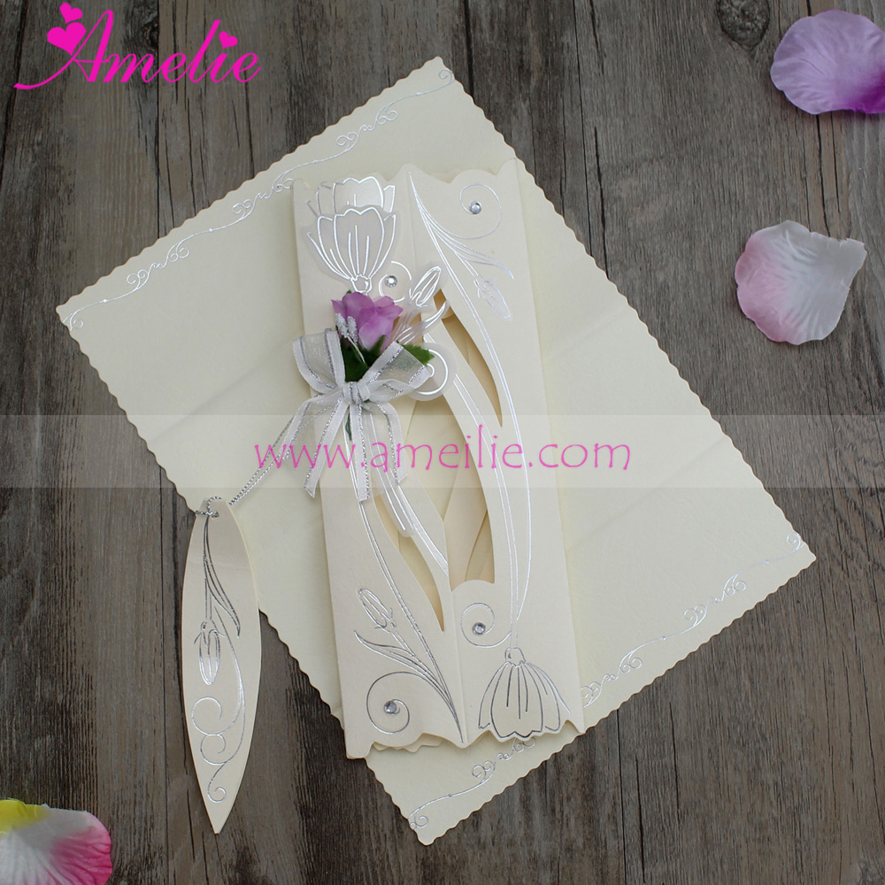 30Piece/Lot Assorted Colors Cheap Scroll Wedding Invitation Card Birthday  Party Invitations Wedding Guests Card