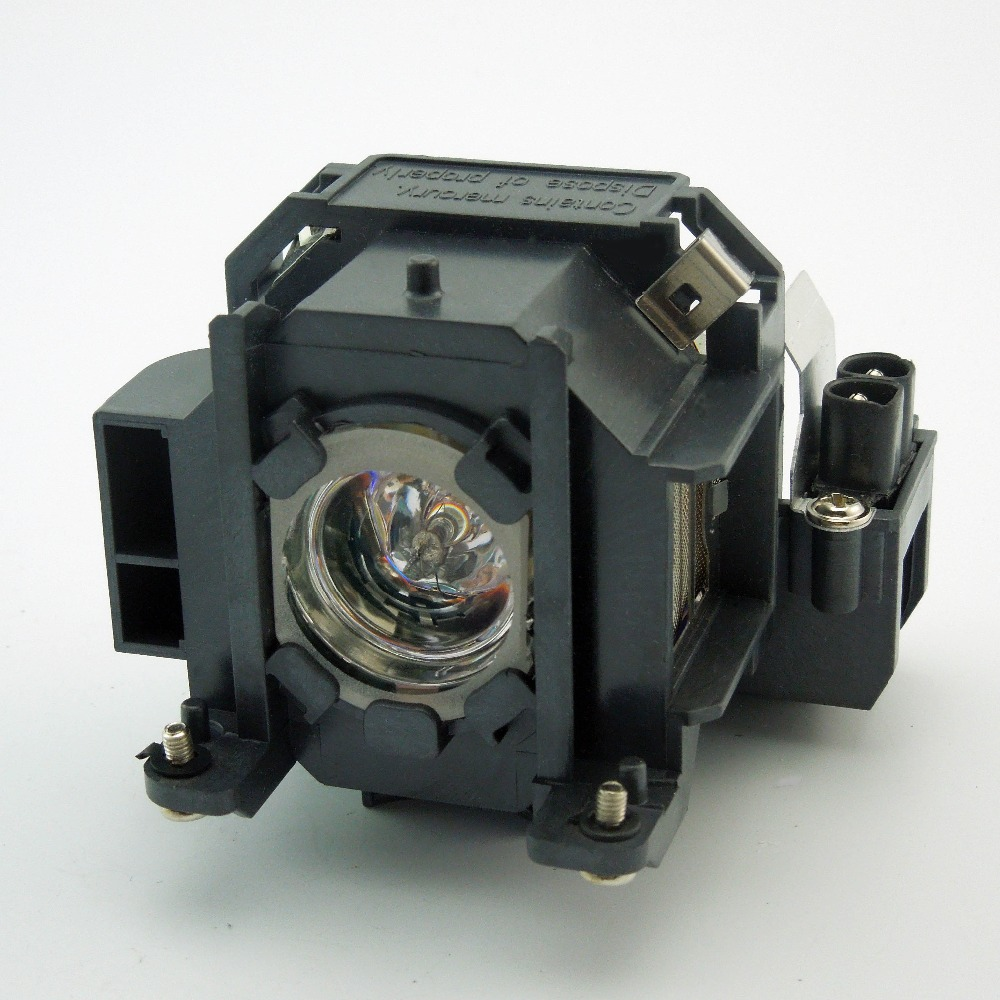 Projector Lamp ELPLP38 for EPSON EMP-1707 / EMP-1717 / EX100 / PowerLite 1700c with Japan phoenix original lamp burner elplp38 v13h010l38 high quality projector lamp with housing for epson emp 1700 emp 1705 emp 1707 emp 1710 emp 1715 emp 1717