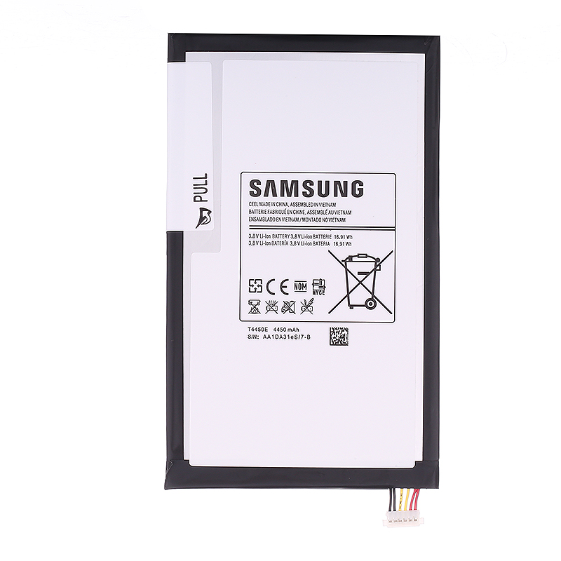 bateria SAMSUNG Original Rechargeable Battery T4450E For Samsung GALAXY Tab 3 8.0 T315 Built-in Tablet Battery 4450mAh T310 T311