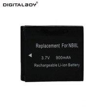 Digitalboy 3.7V 100mAh 1pcs NB-8L NB 8L NB8L Rechargeable Camera Battery For Canon Powershot A3100 A3200 A3300 PM059 A2200 A3000