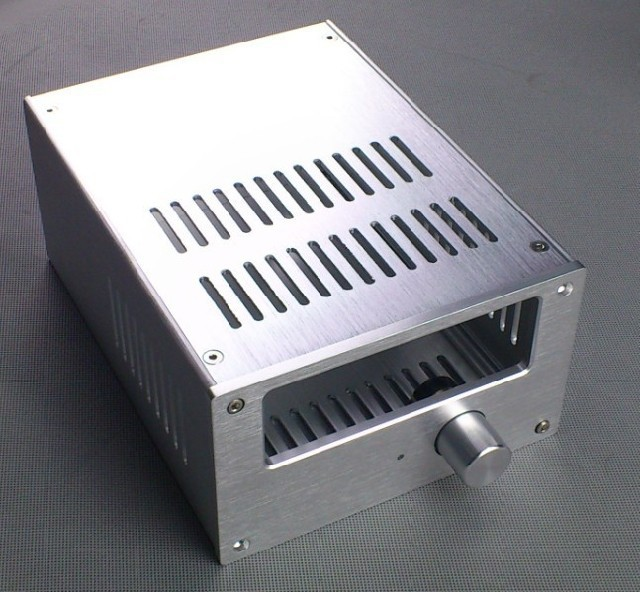 Full Aluminum Enclosure / mini AMP case/power amplifier box/ chassis кельма fit 05877