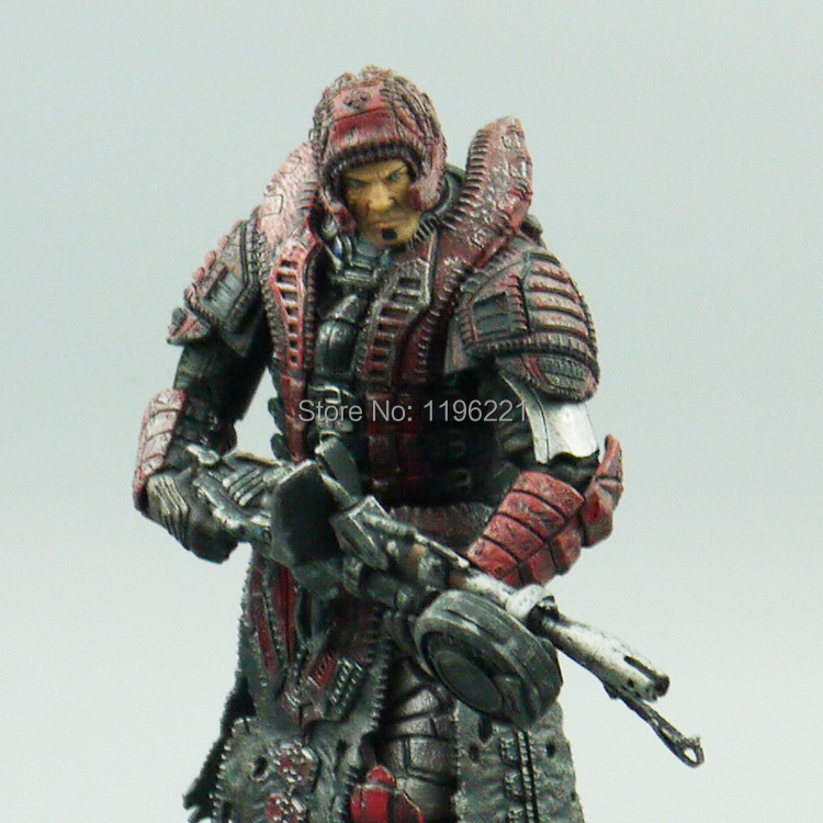 Out of print Neca GEARS OF WAR  MARCUS FENIX THERON DISGUISE figuras Free shipping combat  Good quality genuine products детский самокат fenix cms031