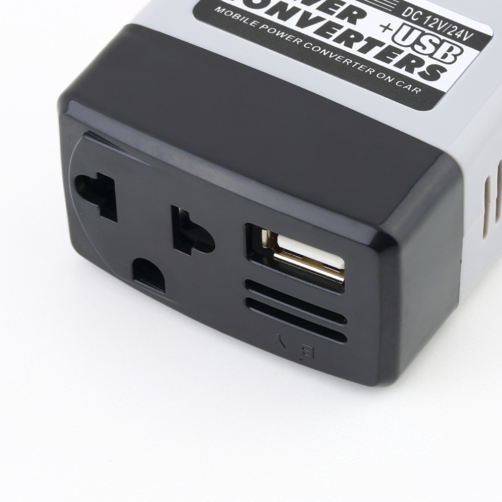 NewDC 12/24V zu AC 220V USB 6V Auto Mobile Power Inverter Adapter Auto Auto Power konverter Ladegerät Verwendet für Alle Handy Heißer