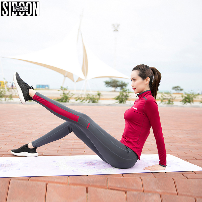 2018 New Arrival Women Running Yoga Set Fitness Bra Leggings Breathable Sport Suit 2 Pcs Outdoor Jogging Gym Clothing Sportswear