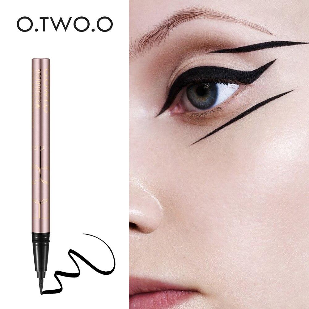O. DEUX. O 1 PC NOUVEAU Beauté Chat Style Noir Long-durable Imperméable À L'eau Liquide Eyeliner Eye Liner Pen Crayon Maquillage Cosmétique outil 9112