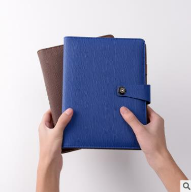 Loose leaf notebook business notebook business creative loose leaf notebook buckle leather notebook office learning diary a6 small business notebook retro style leather notebook office learning notes notebook comes with a pen